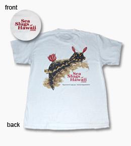 short sleeved sea slug t-shirt