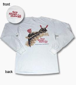 long sleeved sea slug t-shirt